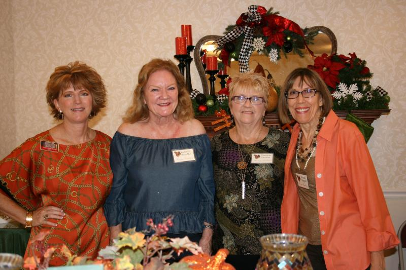 November Hostesses Heritage Gardeners