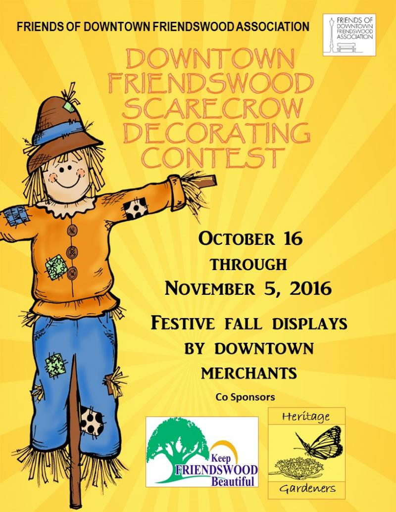 Scarecrow decorating contest